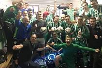 Fotbalisté Hostouně slaví další triumf v divizi B.
