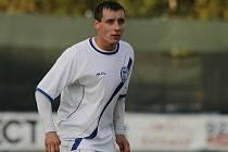 Michal Zachariáš // SK Kladno - Fotbal Třinec 1:1 (0:1) , utkání 6.k. 2. ligy 2010/11, hráno 5.9.2010