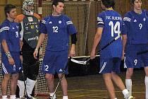 Florbalové áčko Kladna čeká tvrdý oříšek - mužstvo osobností  s hokejisty Kallou, Rudovským či fotbalistou Kalinou.
