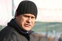 Daniel Drahokoupil, trenér SK Kladno // SK Kladno -SK Horní Měcholupy 1:3 (0:2) , utkání 14.k. CFL. ligy 2012/13, hráno 10.11.2012