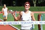 Regina Procházková (Spartak Praha 4) zvítězila v kategorii žen časem 3:12:47 // Kladenský maratón 2013