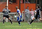 SK Kladno - Graffin Vlašim 2:1 (1:0), přípravné utkání, hráno 15.7.2009 ve Velvarech