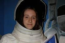 Aneta Ceplechová z Kladna si vyzkoušela výcvik, kterým procházejí kosmonauti. Kromě nejrůznějších cvičení na trenažérech, absolvovala i odborné přednášky.
