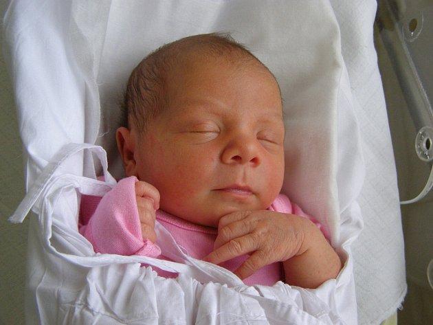 Tereza Hošková, Kladno. Narodila se 18. prosince 2012, váha 2, 97kg, míra 47cm. Rodiče jsou Sandra a Radek Hoškovi (porodnice Kladno).