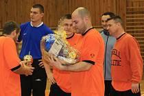 Vánoční Fujdiarův turnaj  2010  ovládl tým Ebárna boys