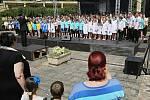 Vystoupení pěveckých sborůPietní vzpomínka k 76. výročí vyhlazení obce Lidice
