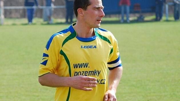Marek Mařík dal jeden z gólů Doks.