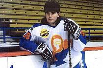 Jaromír Jágr v roce 1995 před svým odletem do Pittsburghu.