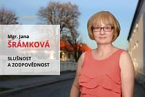 Jana Šrámková, učitelka českého a německého jazyka na kladenském gymnáziu.