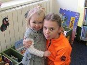 Den pro dětskou knihu ve slánské knihovně.