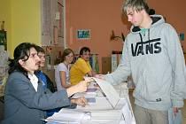 LUKÁŠ REYMAR ze Slaného byl za plentou poprvé. Zanedlouho sám pozná, jakou měl jeho volební hlas váhu.