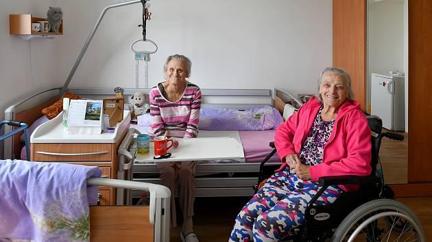 Nové bydlení v Domově pro seniory v Kladně si klienti velmi pochvalují.