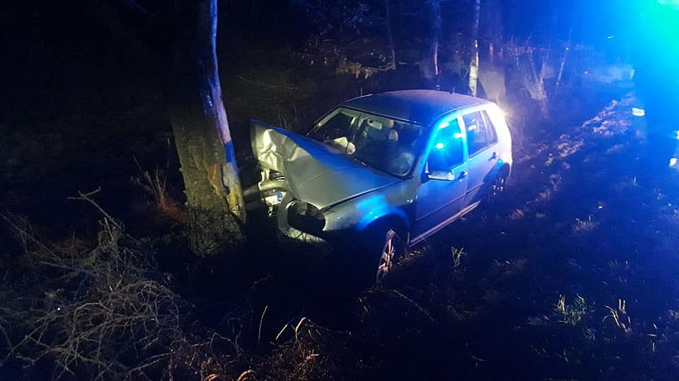 Z nehody u obce Kunice.