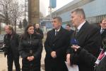 Zástupci vlády a kraje dorazili do Kladna. Andrej Babiš zde navštívil Třineckou ulici, kde stojí areál bývalého Poldi.