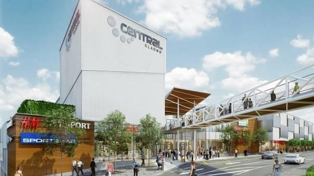 V SOUČASNÉ DOBĚ, tedy na začátku stavby, je už v Centralu Kladno obsazeno zhruba šedesát procent prodejní plochy.
