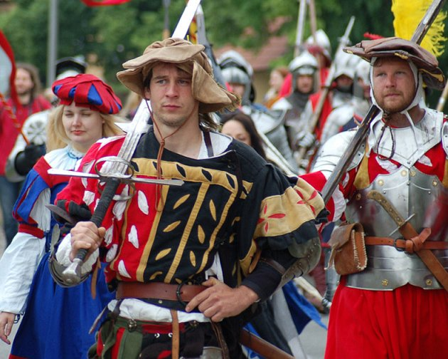 Historická bitva v Královicích.