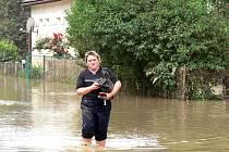 Jednou ze tří povodněmi postižených obcí, do nichž kladenská radnice zašle finanční pomoc, je Jeseník nad Odrou.