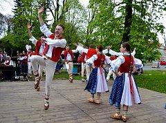 Středočeský folklorní festival Tuchlovická pouť se konal počtyřiadvacáté.