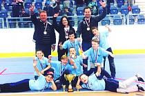 Vítězný tým 12. ZŠ Kladno