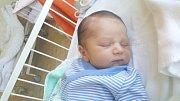 DARIO FRANKO KOVÁČ, KLADNO. Narodil se 5. května 2018. Po porodu vážil 3,27 kg a měřil 51 cm. Rodiče jsou Ivana Kováčová a Miroslav Kováč. (porodnice Kladno)