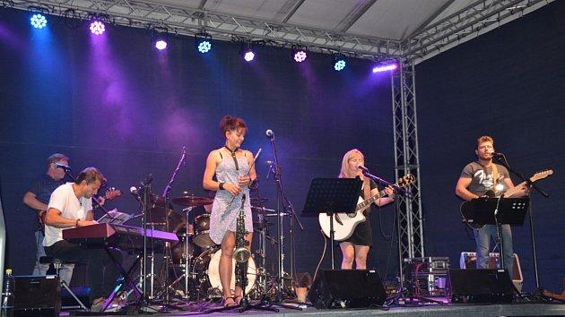 Koncert kapely U-Style ve Slaném