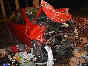 Tragická nehoda u Bělče