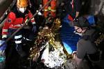 Ze záchrany vážně zraněného muže v Poldovce.
