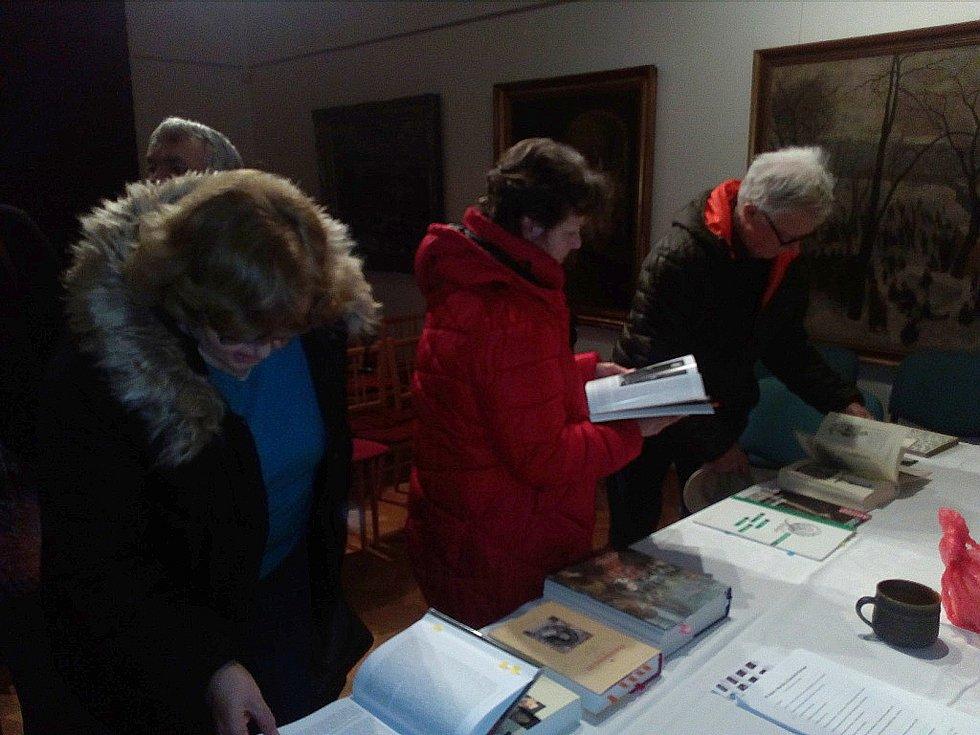 Letošní první přednáška v malé galerii slánského muzea sklidila velký úspěch.