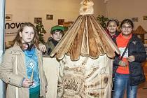 NA VÝSTAVĚ MEDOVÉ VÁNOCE mohou návštěvníci obdivovat například velmi zajímavý úly a nejrůznější výrobky ze včelích produktů.