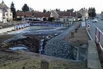 Rybník ve Velké Dobré bude hotový do jara.