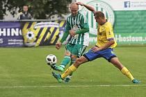 Sokol Hostouň - FC Písek 0:1, FORTUNA:ČFL, 8. 9. 2019