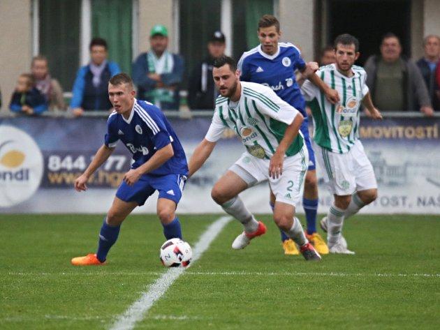 Sokol Hostouň - SK Český Brod 0:3 (0:1), Divize sk. B, 18. 9. 2016, mezi hostujícími hráči František Motlík