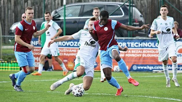Sokol Hostouň - SK Rakovník 2:0 (1:0), ČFL 25. 9. 2021