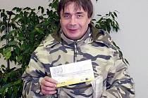 Martin Eybl z Bělče, vítěz 6. kola Fortuna ligy