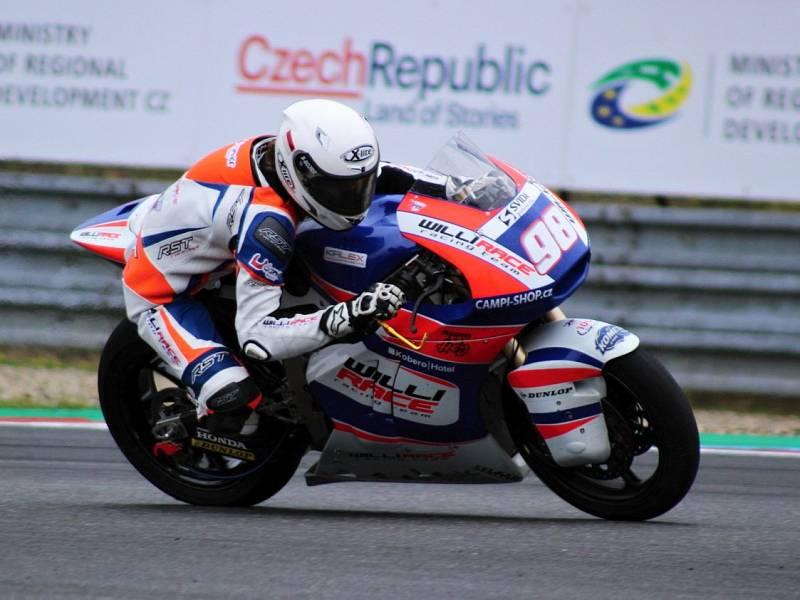 Karel Hanika byl na GP ČR klasifikován na divokou kartu jako dvaadvacátý.