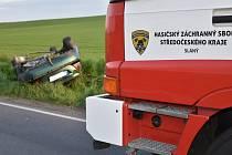 Při nehodě byli lehce zraněni dva lidé.