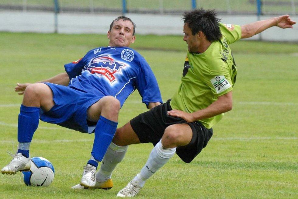 Ani ligouš Michal Zachariáš se v Čelákovicích nedokázal za béčko prosadit.