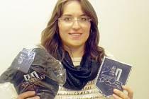 Monika Marešová, vítězka tipovací soutěže.