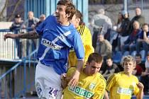 David Radosta // SK Kladno - MFK Karviná  0:1 (0:1)  , utkání 20.k. 2. ligy 2010/11, hráno 4.4.2011