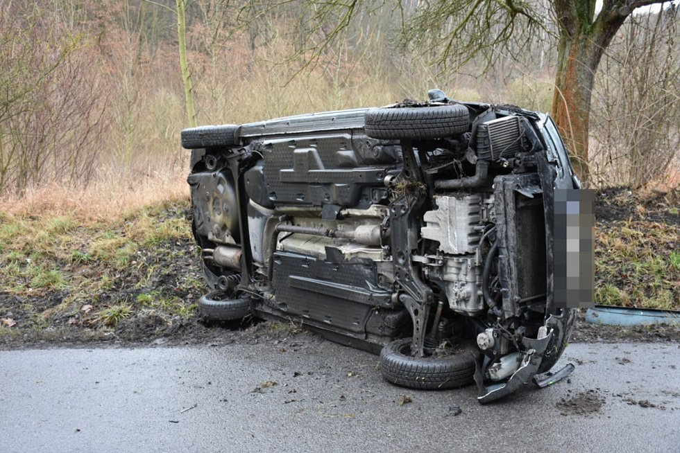 Nehoda u Vinařic.