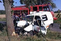 Vážná nehoda se stala v pátek odpoledne u Studeněvsi