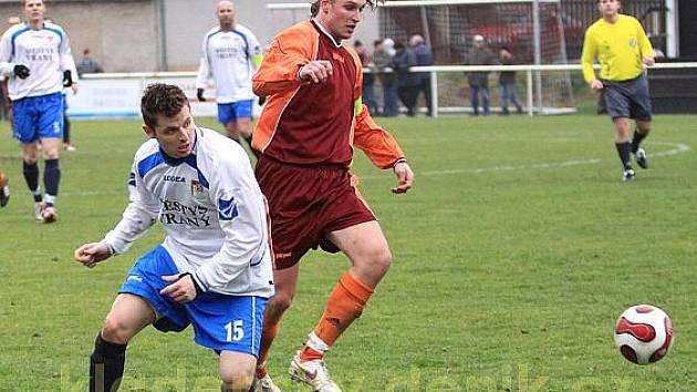 Vranský Libor Maliňák (15) hraje futsal za Spartu Slaný a úspěšně.