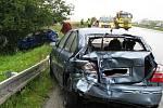 Dopravní nehoda na R7.