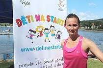 Zakladatelka projektu Děti na startu Jana Boučková.