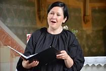 Zahajovací červnový koncert v dolínském kostele v podání Tria Consortia.