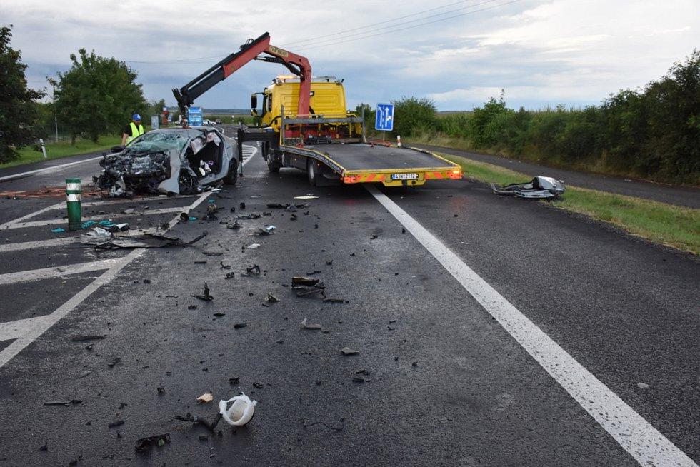 Vážná nehoda u Třebíze.