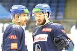Chance liga, Kladno - Jihlava, 5. zápas vyhráli hosté 2:1. Porada Plekanec  - Snuggerud