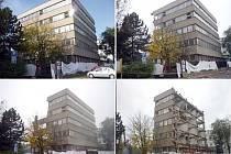 VÝSTAVBĚ NOVÉHO OBCHODNÍHO KOMPLEXU Central Kladno předcházela demolice řady objektů.