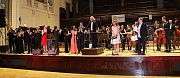 Exkluzivní koncert pro Slunce ve Smetanově síni Obecního domu v Praze.