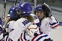 Kladeňačky vybojovaly 3. místo / HC 2001 Kladno - HC Litvínov 6:3 (3:1, 1:0, 2:2), play off o 3. místo - lední hokej ženy, hráno 17.3.2012